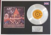 "THE SWEET - 7"" Platinum Disc + Cover- WIG-WAM BAM"